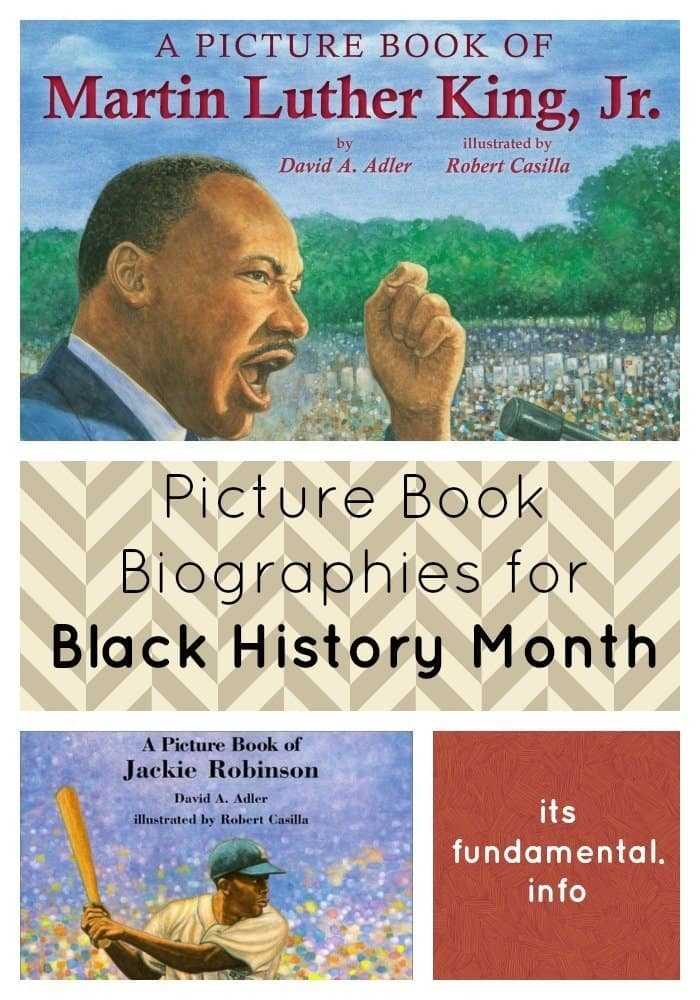 Picture Book Biographies for Black History Month