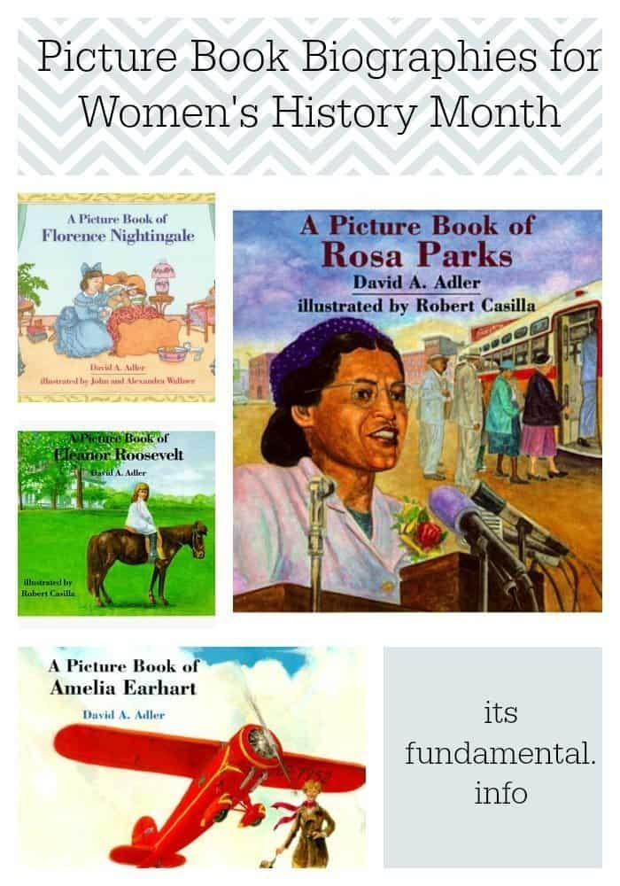 Picture Book Biographies for Women's History Month