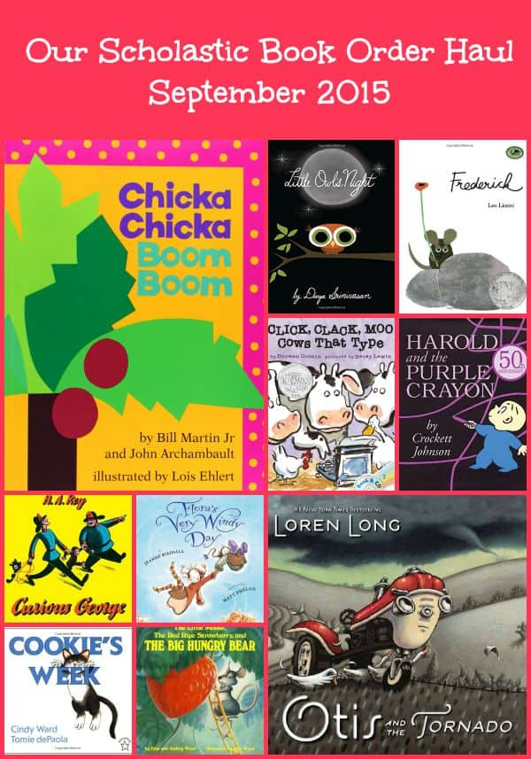 Our Scholastic Book Club Haul | September 2015