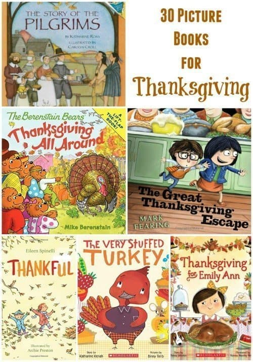30 Picture Books for Thanksgiving