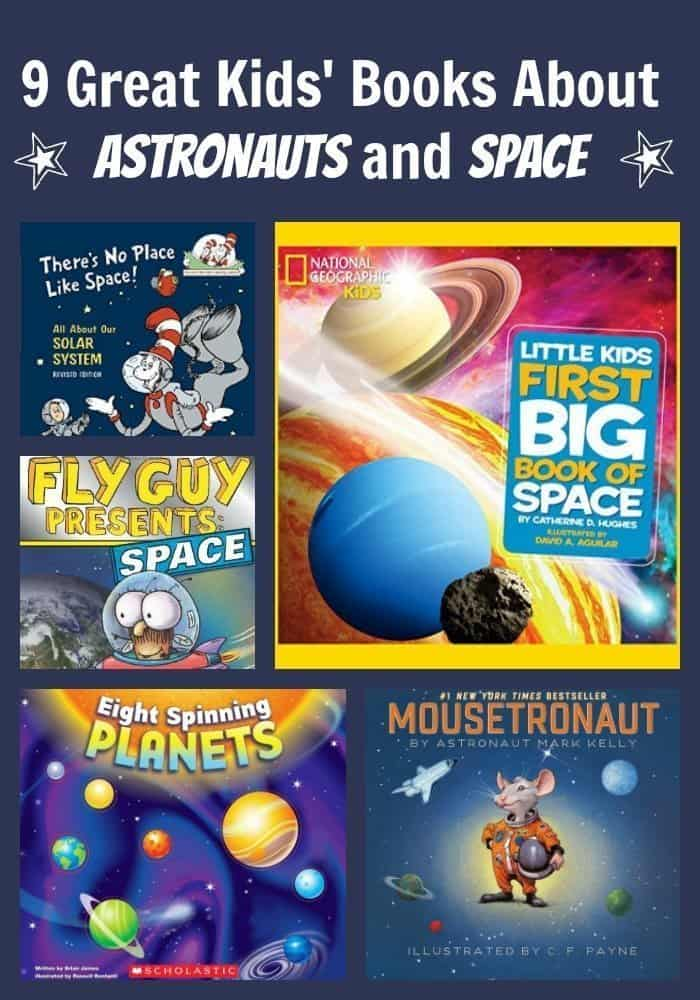 9 Great Kids' Books About Astronauts and Space