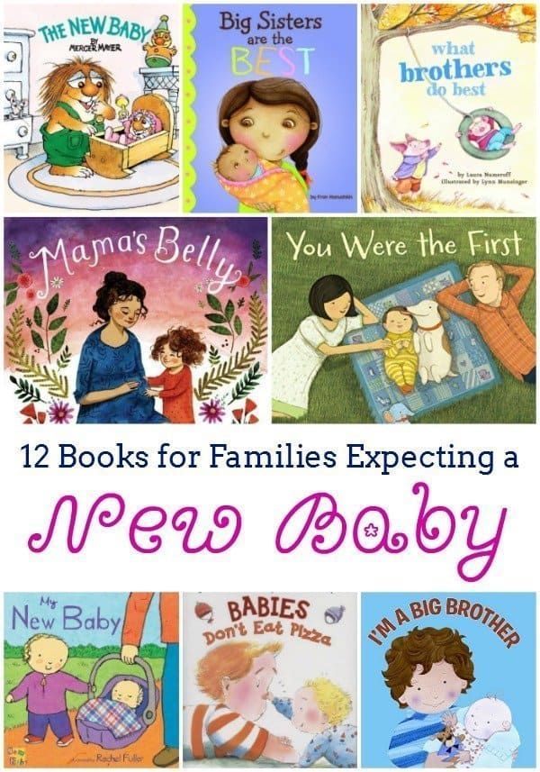 12 Books for Families Expecting a New Baby