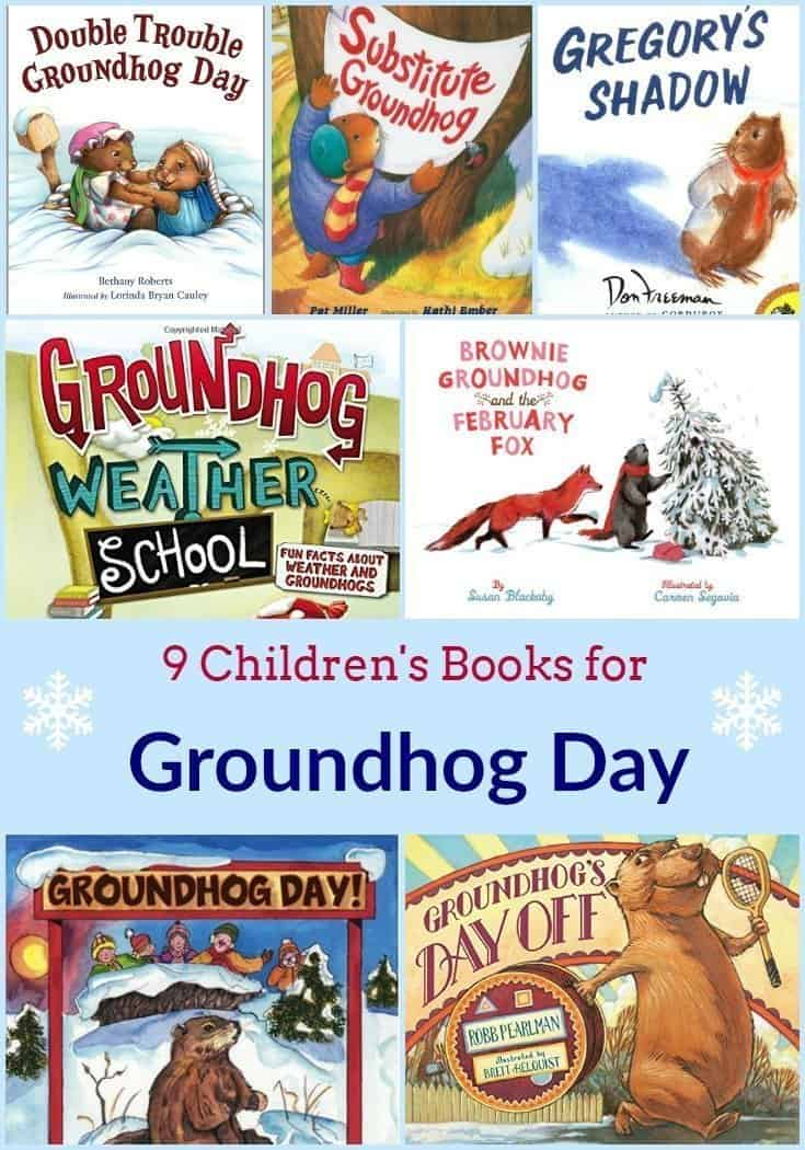 9 Children's Books for Groundhog Day