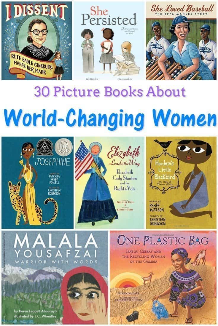 30 Picture Books About World-Changing Women