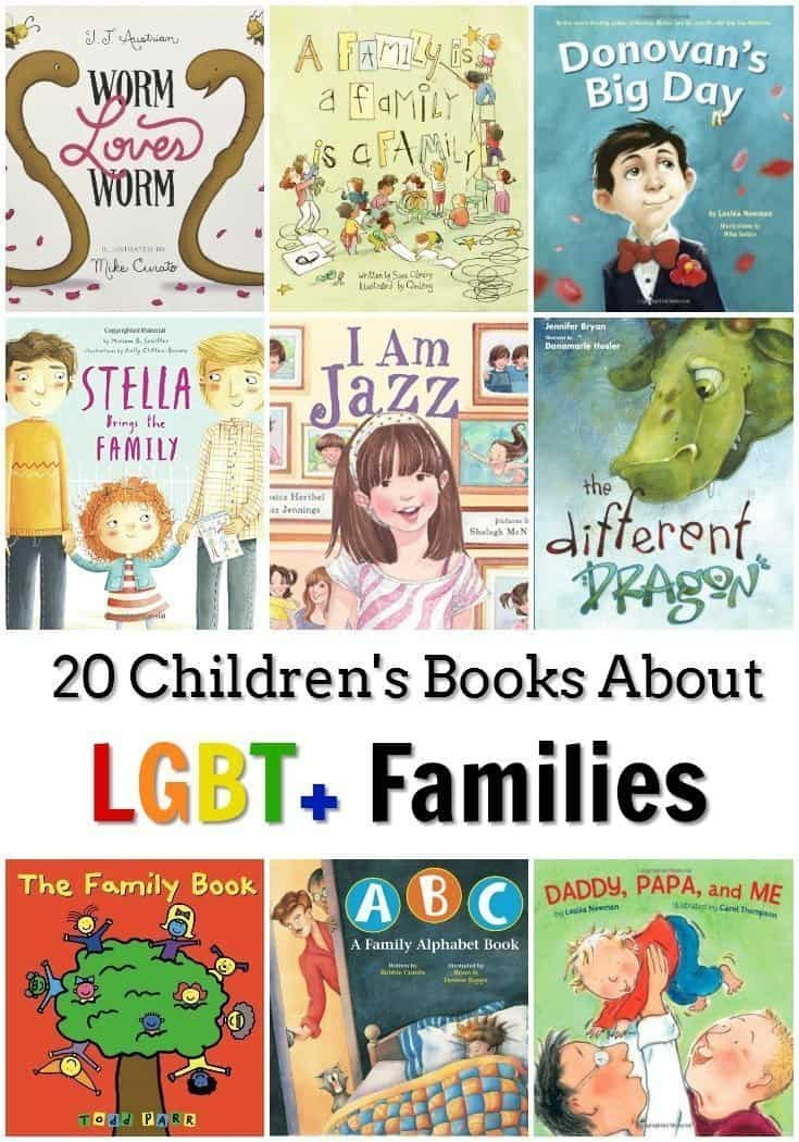 20 Children's Books About LGBT+ Families