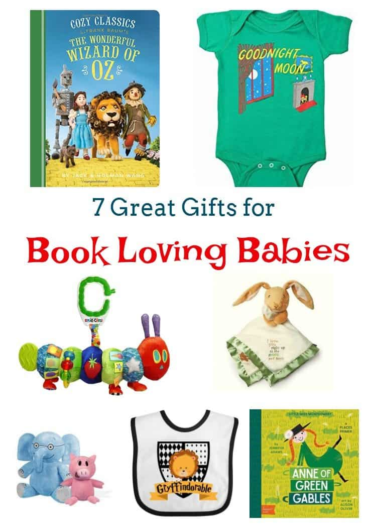 7 Gifts for Book-Loving Babies
