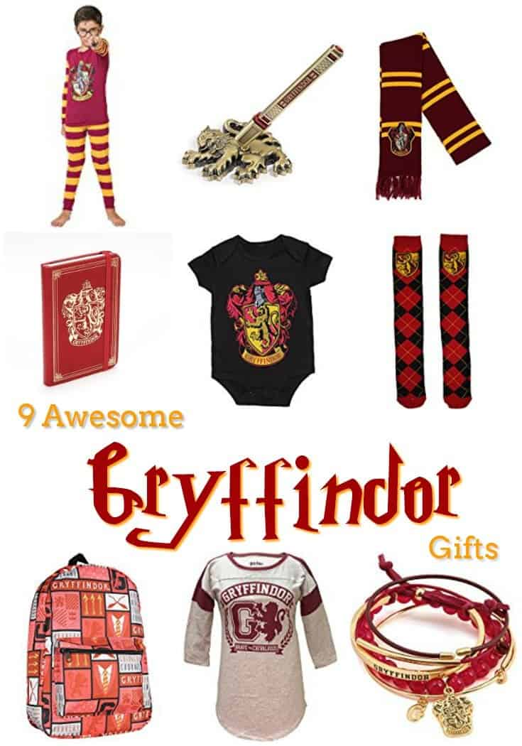 9 Harry Potter Gryffindor Gifts