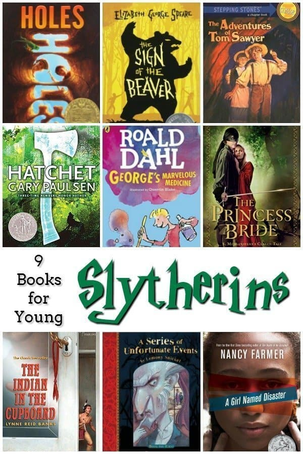 9 Books for Young Slytherins