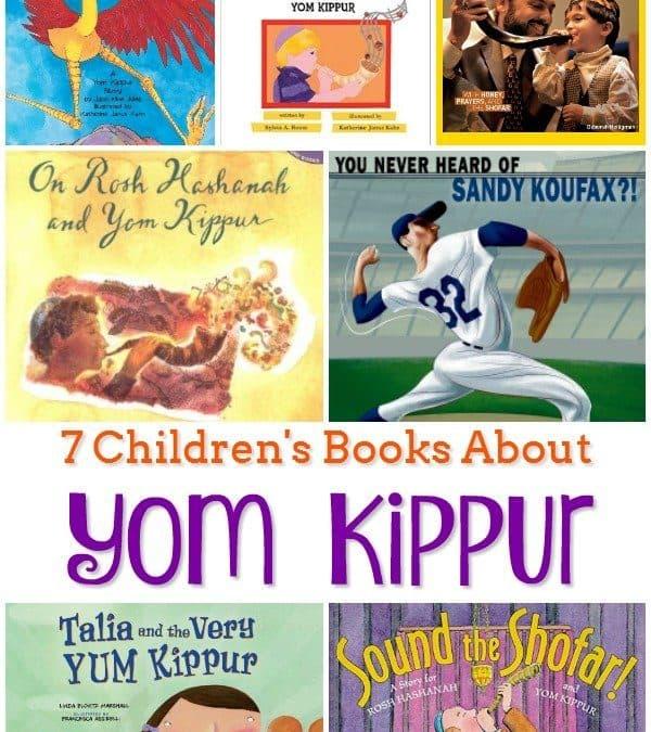 7 Children's Books About Yom Kippur