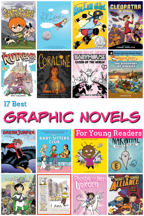 17 Best Graphic Novels for Kids