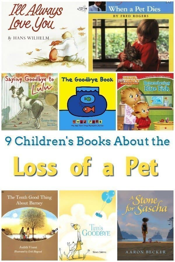 9 Children's Books About Pets Dying
