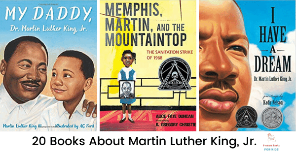 20 Books About Dr. Martin Luther King, Jr.
