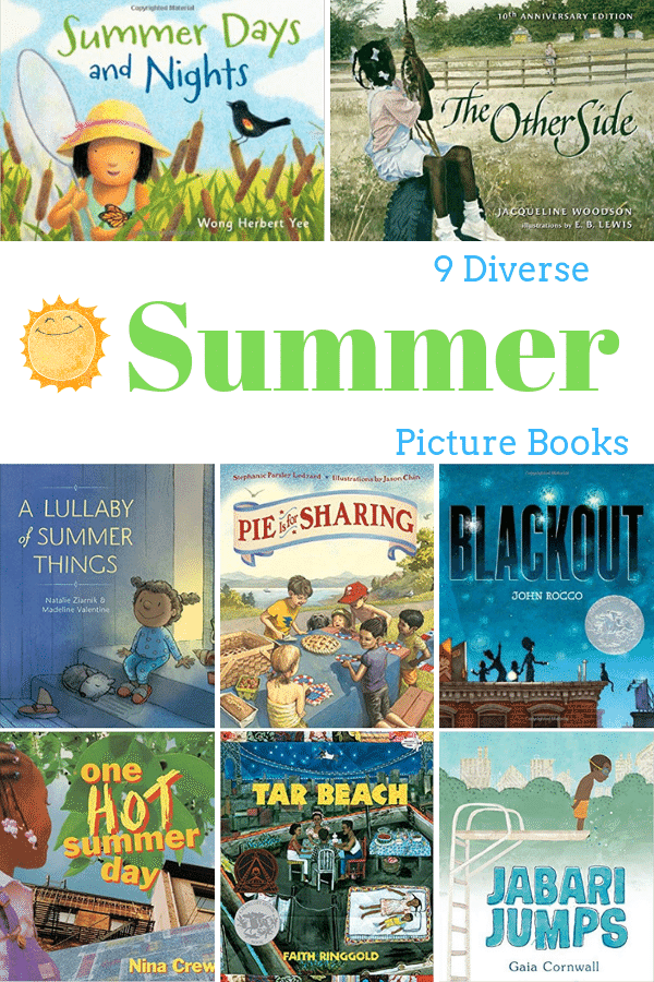 Diverse Summer Picture Books