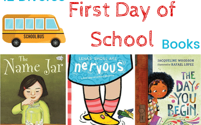 12 Diverse First Day of School Books