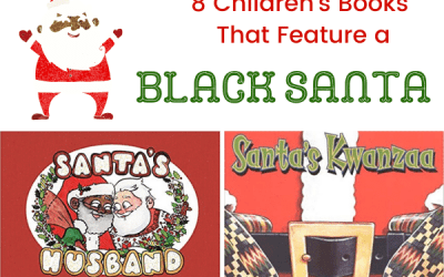 8 Picture Books With a Black Santa Claus