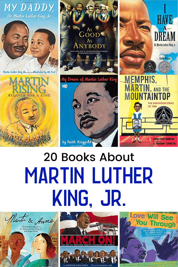 Books About Martin Luther King Jr
