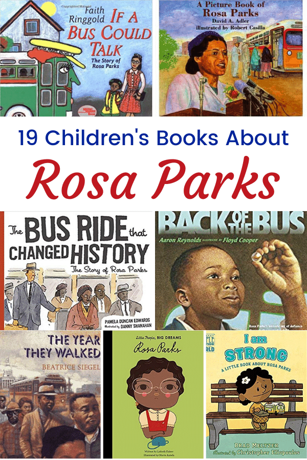 Books About Rosa Parks