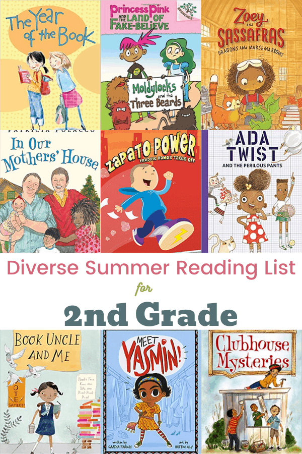 Summer Reading List for 2nd Grade