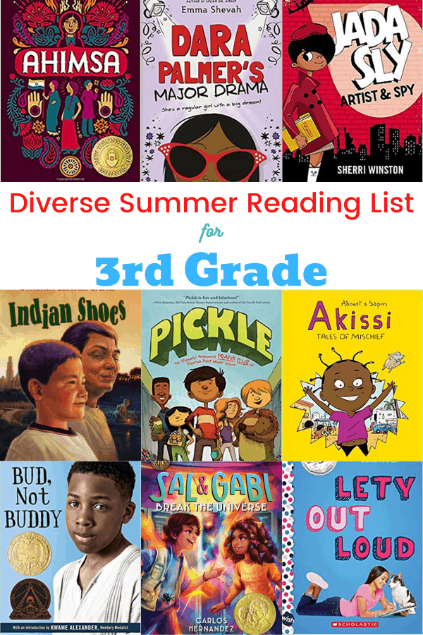 Summer Reading List for 3rd Grade