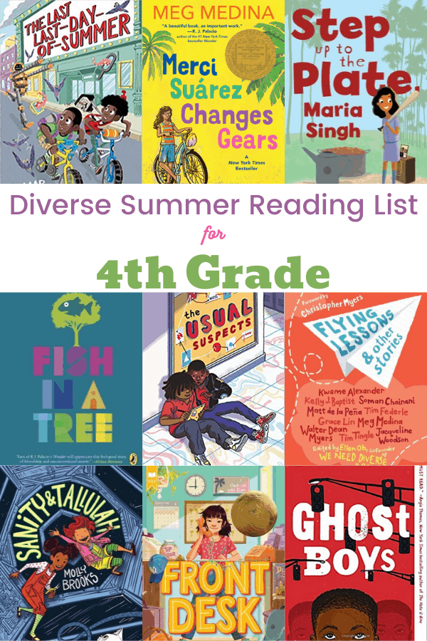 Diverse Summer Reading List for 4th Grade