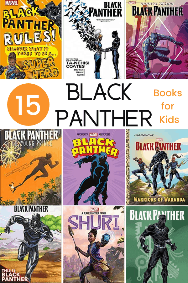 Black Panther Books for Kids